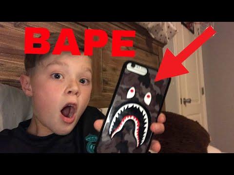 BAPE PHONE CASE UNBOXING