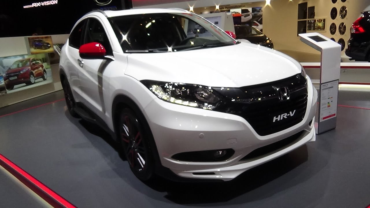 2016 - honda hr-v - exterior and interior - geneva motor show 2016