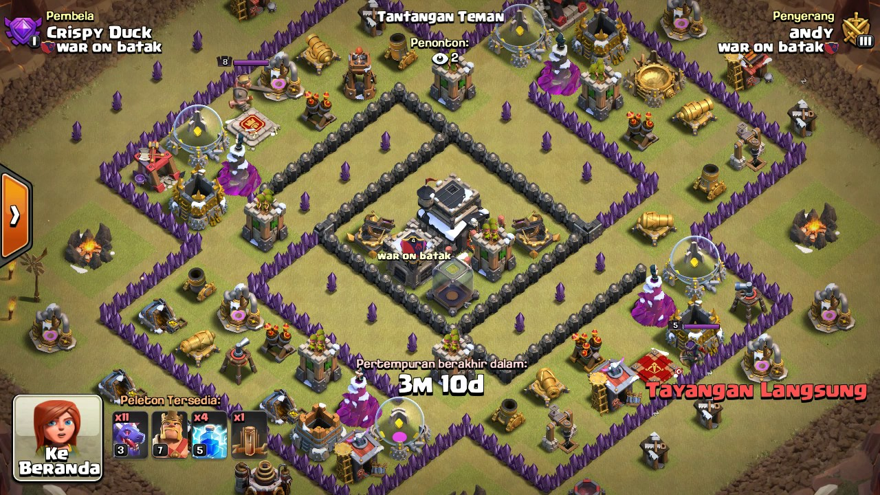 Base War Th 9 Susah Ditembus 4