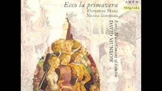 David Munrow, Early Music Consort of London - Ecco La Primavera