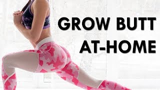 How To GROW Your GLUTES At-Home | Glutes Exercises For Women