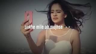Aankhe Mila Mujhse Ab Bhi👀❤