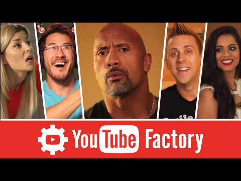 "The YouTube Factory feat. Dwayne ""The Rock"" Johnson, Lilly Singh, and More!"