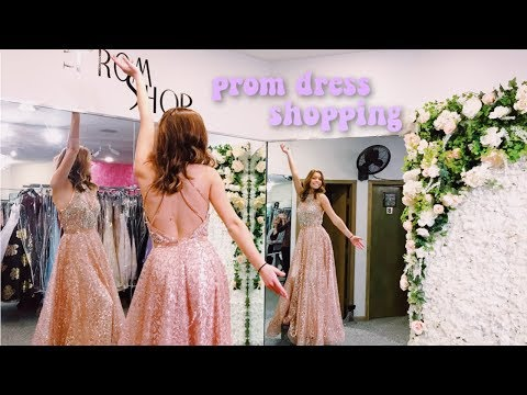 FINDING ANOTHER PROM DRESS!!
