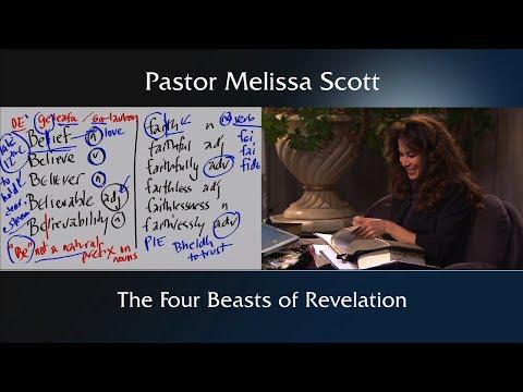 Revelation 4:6-8 The Four Beasts Of Revelation - Eschatology #36