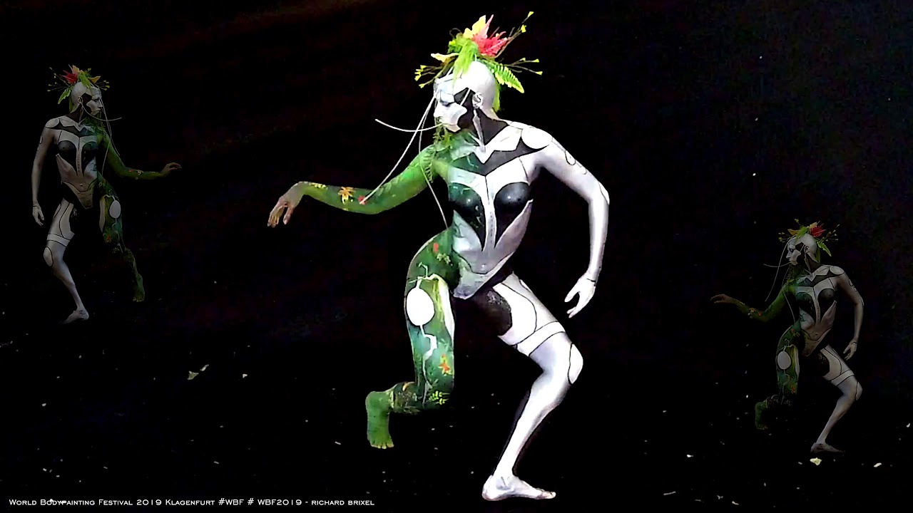 World Body Painting Festival 2019 Klagenfurt Youtube