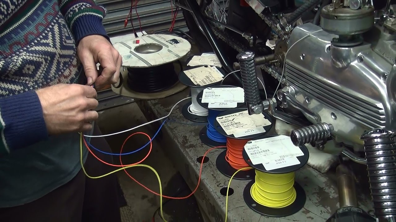hight resolution of 1970 xlch 132 bobber new build repair rigid chopper xl ironhead sportster harley wiring