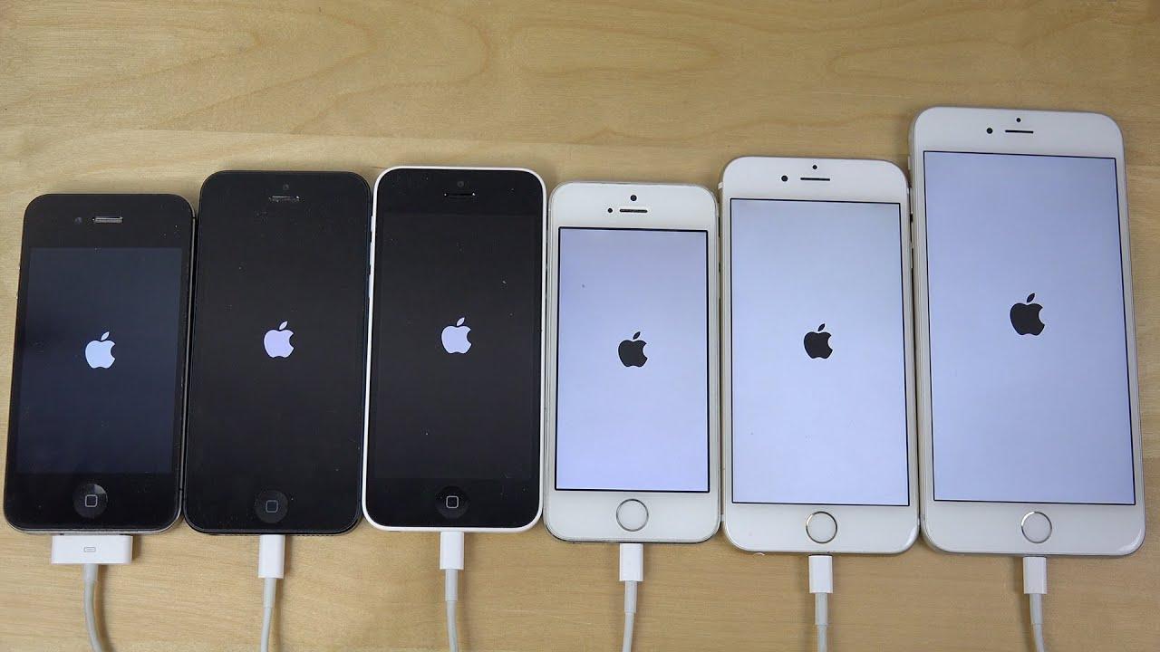 IOS 8.1.2: Apple IPhone 6 Plus Vs. 6 Vs. 5S Vs. 5C Vs. 5
