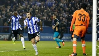 GOAL HIGHLIGHTS: Sheffield Wednesday 3 Arsenal 0 | Capital One Cup