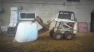 Sławek_Vlog#47 Modernizacja Mini-Ładowarki Bobcat M371 Skid Steer ! :D