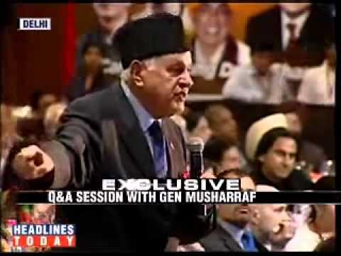Farooq Abdullah Former CM, Musharraf.TABREZ.flv