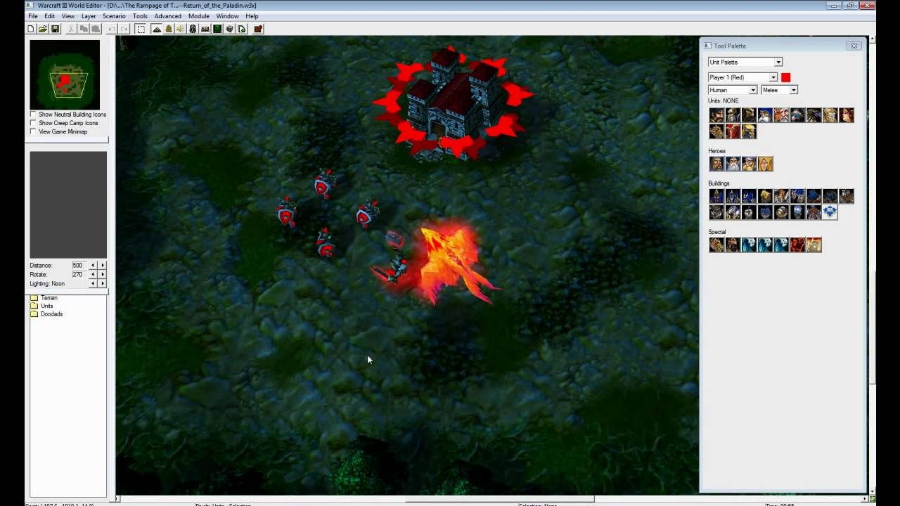 Warcraft 3 world editor how to use the campaign editor youtube publicscrutiny Images