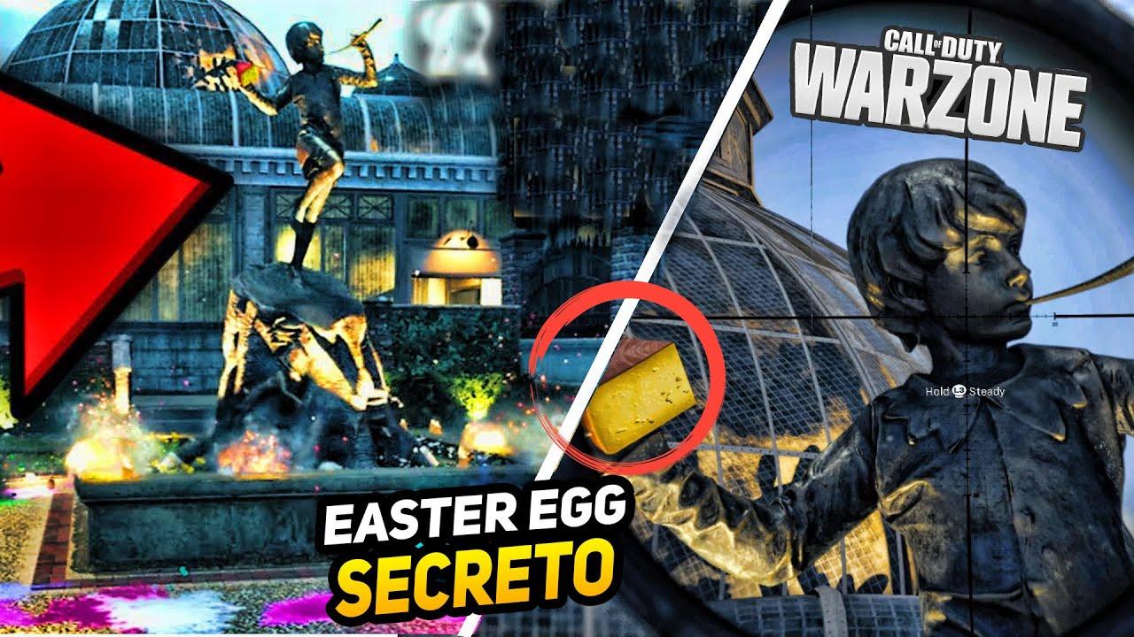 Nuevo SECRETO en Cheshire Park el Flautista de Hamelín - Cazando Ratas! Modern Warfare Easter Egg
