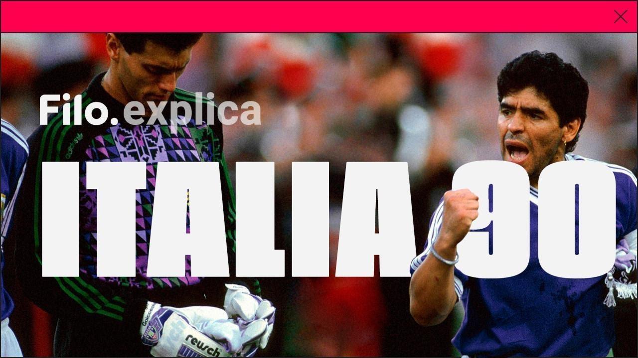 30 años de ITALIA '90: Argentina vs Alemania ¿El PEOR de los MUNDIALES?   Filo.explica