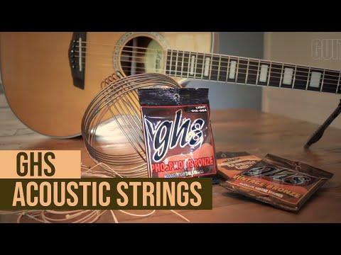 GHS Acoustic Guitar Strings - demo