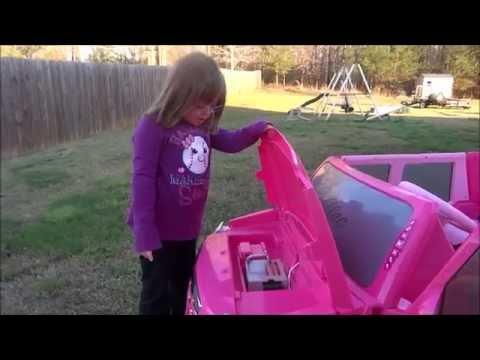 Barbie Power Wheel Cadillac Hybrid Escalade EXT By Fisher-Price