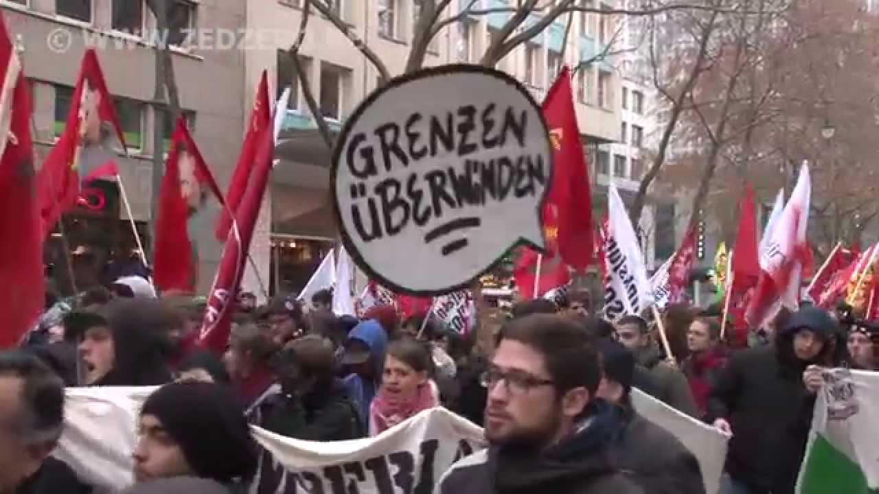 Demonstration Köln