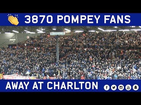 3870 Pompey fans make the trip to Charlton