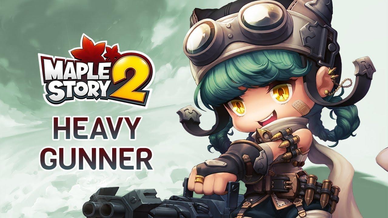 Heavy Gunner Build Guide Maplestory 2 MS2 | GamerDiscovery