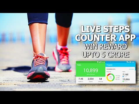 Best Steps Counter App for Android/IOS