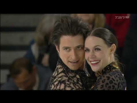 Tessa Virtue / Scott Moir 2018 Canadian Tire National Skating Championships - SD & interview