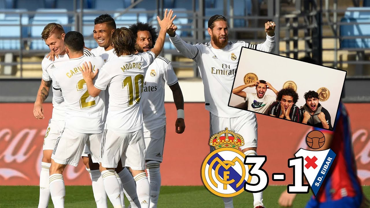 Download REAL MADRID ONLY NEEDS 45 MINS TO BEAT EIBAR! | REACTION - REACCIONES