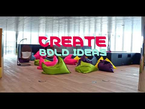 Take a tour through the Innovation Center of Merck KGaA Darmstadt, Germany