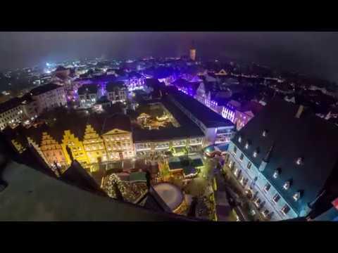 Timelapse 4K - Merry Christmas - Osnabrück  - XciteLight