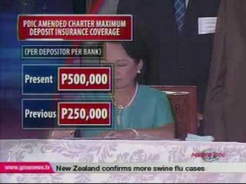 QTV  - Maximum PDIC coverage up to P500,000