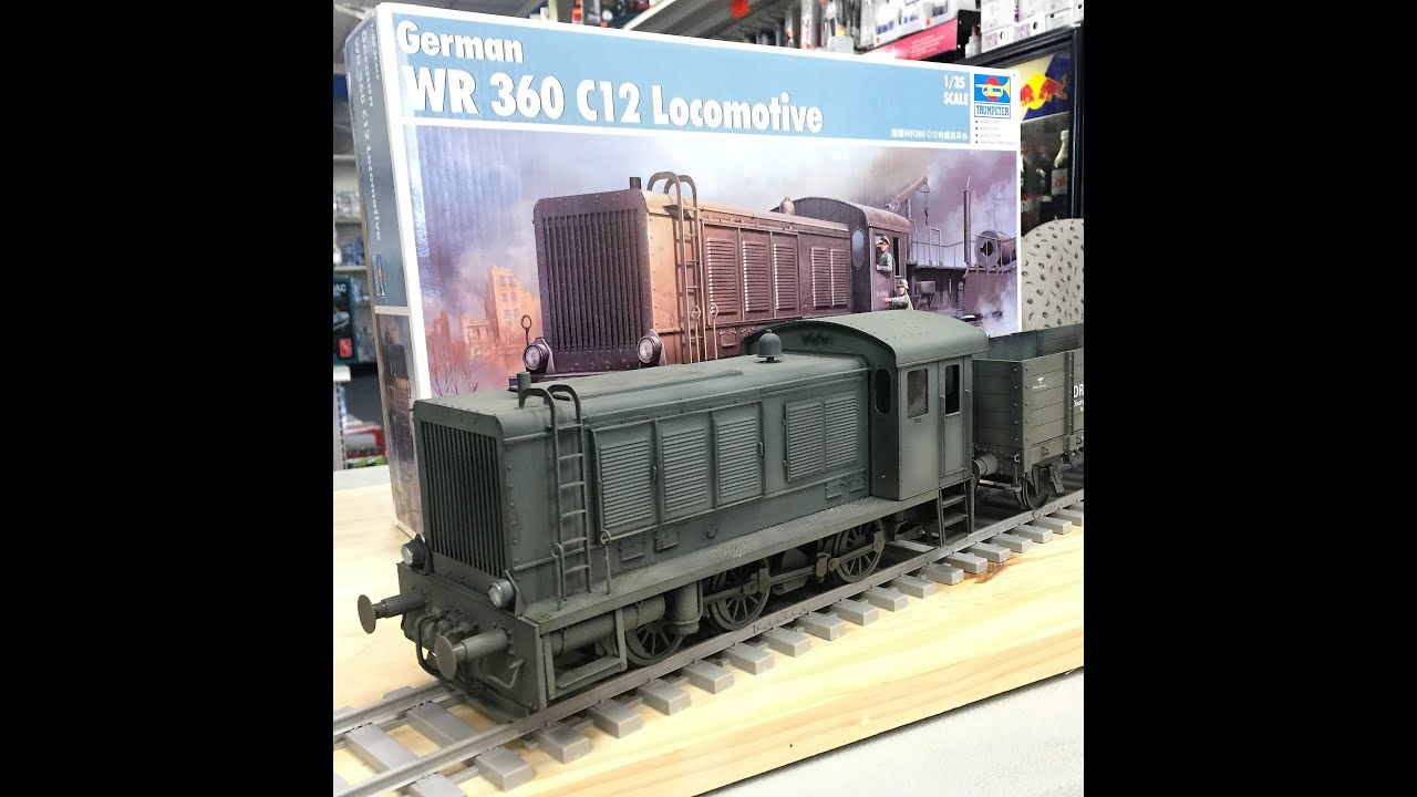 Building the Trumpeter 1/35 WR 360 Locomotive, plastic ...