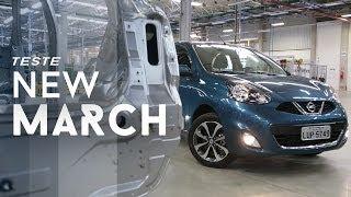 Nissan New March 1.6 SL 2014 - Teste WebMotors