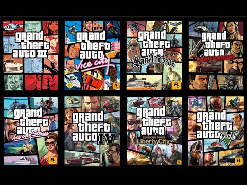 GTA History - ALL Grand Theft Auto games (GTA1, GTA2, GTA3, GTAIV, GTAV and more)