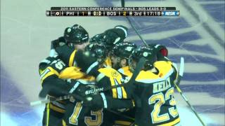 Bruins-Flyers Game 4 2011 Highlights 5/6/11 1080p HD