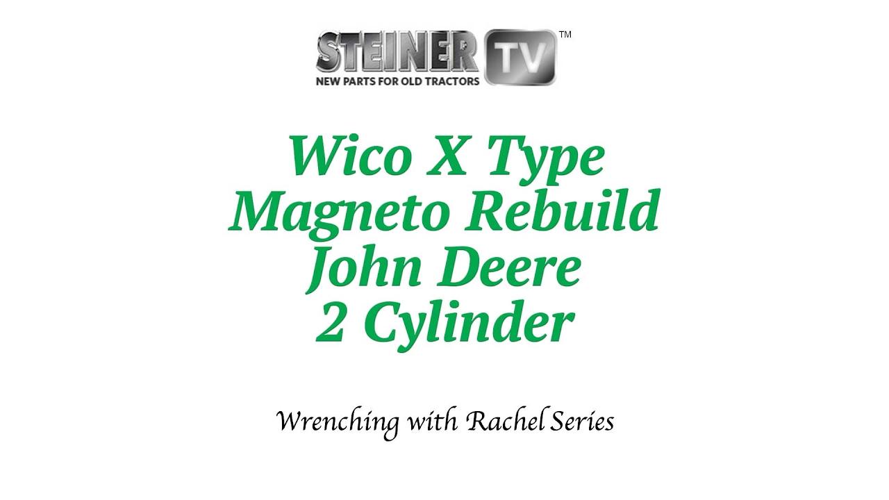 small resolution of magneto rebuild on john deere 2 cylinder