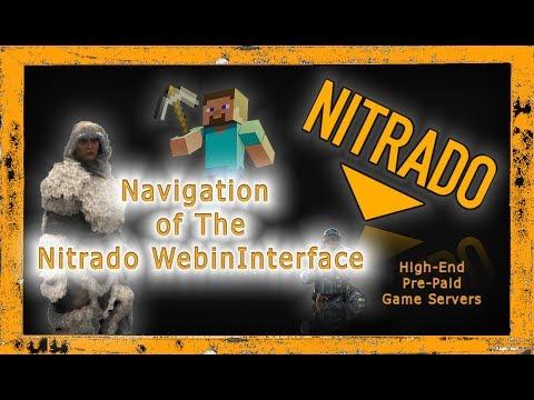 General Tutorial: 4. Navigating The Nitrado Web Interface