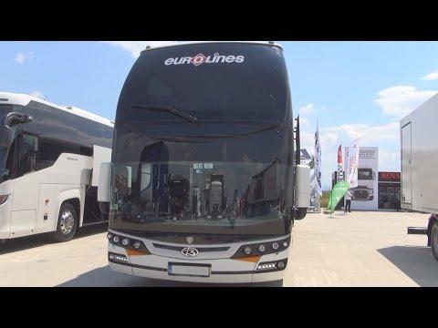 Scania Beulas Glory Bus Exterior and Interior