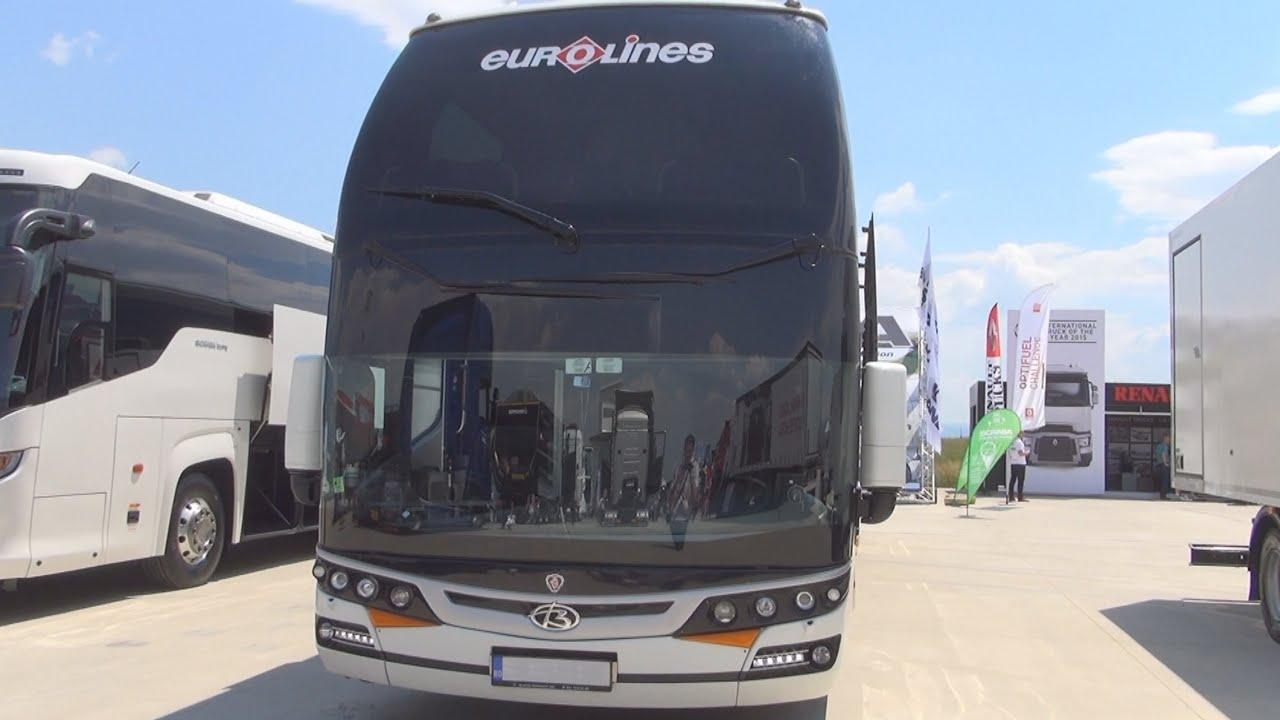 Scania Beulas Glory Bus Exterior and Interior - YouTube