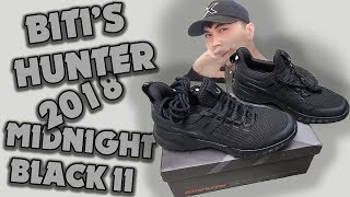 UNBOX nhanh Bitis Hunter X Midnight Black II 2018