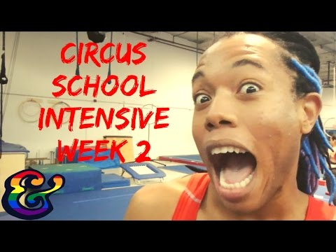 Aerial Circus Training Intensive Workshop at Toronto School of Circus Arts (Week 2)