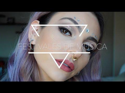 Tutorial de maquillaje para festivales de música | Anna Sarelly