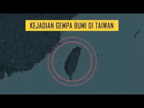[INFOGRAFIK] Kronologi Kejadian Gempa Bumi di Taiwan