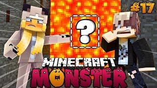 DAS GEHEIMVERSTECK HINTER DEM LAVAFALL ✿ Minecraft MONSTER #17 [Deutsch/HD]