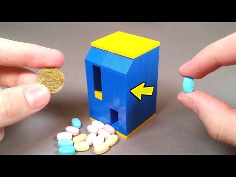 How To Make LEGO TicTac Candy Machine!