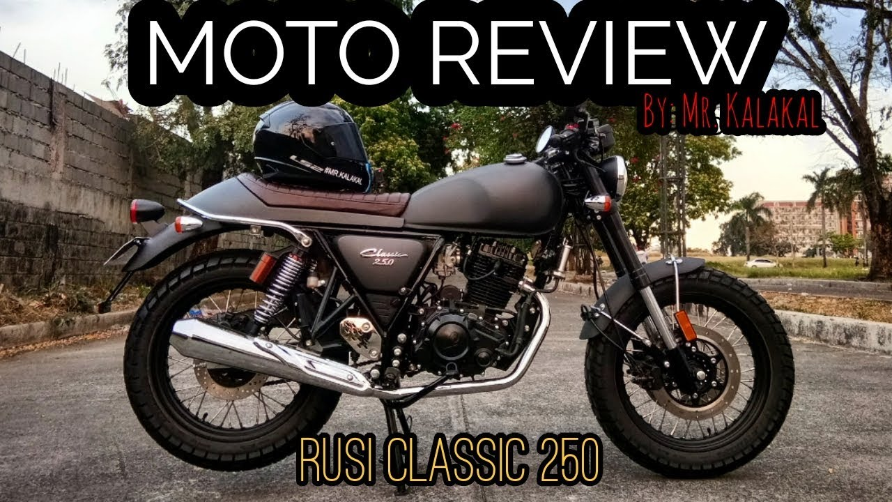 Moto Review Ep3 Rusi Classic 250