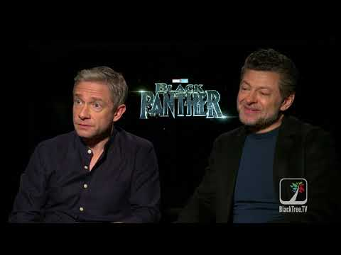 Black Panther on BlackTree: Martin Freeman and Andy Serkis—Exclusive Interviews