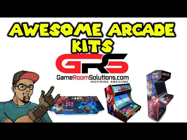 The Best Arcade Kits - 2 Player Panel, Bartop, Full Size & More