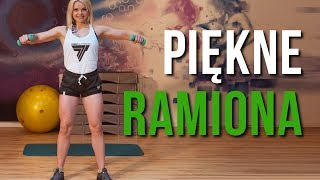 ĆWICZENIA NA RAMIONA I BARKI DLA KOBIET W DOMU  10 min Trening Fitness z Martą Banasik