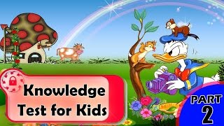 Children knowledge Test | General knowledge Test for kids | GK Questions for Kids