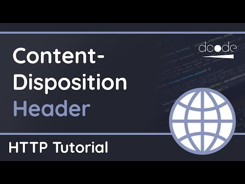 How To Create Download Links For The Web With Content-Disposition - HTTP Header Tutorial