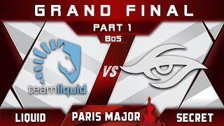 Liquid vs Secret Grand Final MDL Disneyland Paris Major 2019 Highlights Dota 2 - [Part 1]